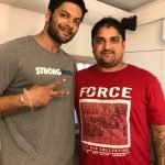 Actor Ali Fazal's Tattoo Done By Mukesh Waghela At Moksha Tattoo Studio Goa India.